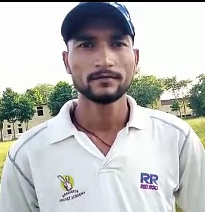 हमीरपुर: अब चंडीगढ़ में किसान का बेटा अंडर-19 में खेलेगा क्रिकेट