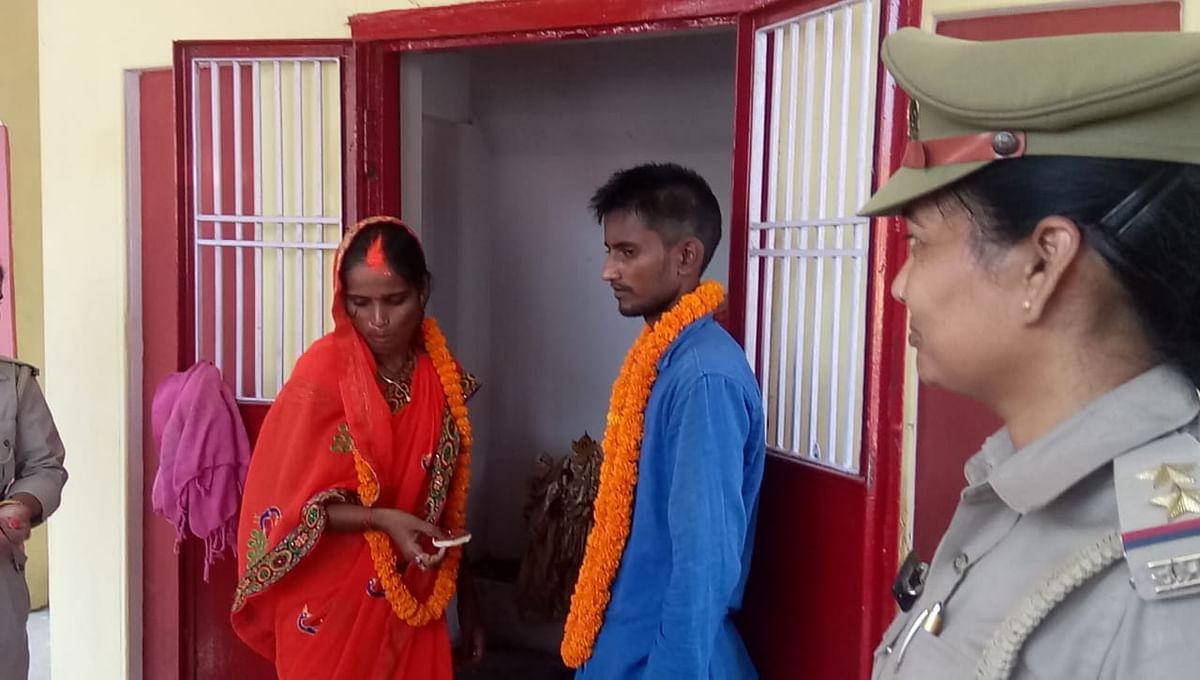 बाल बच्चेदार विवाहिता की शादी पुलिस ने प्रेमी से करा दी,देखता रह गया पहला पति