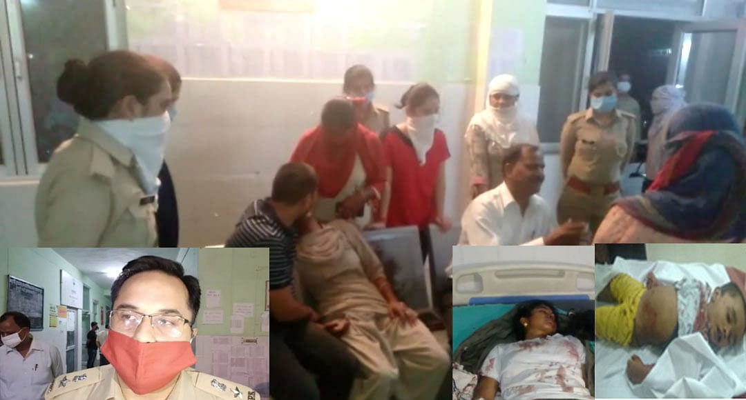 मथुरा : महिला कांस्टेबल के दो वर्षीय पुत्र का खून से लथपथ शव घर में मिला, भतीजी भी घायल