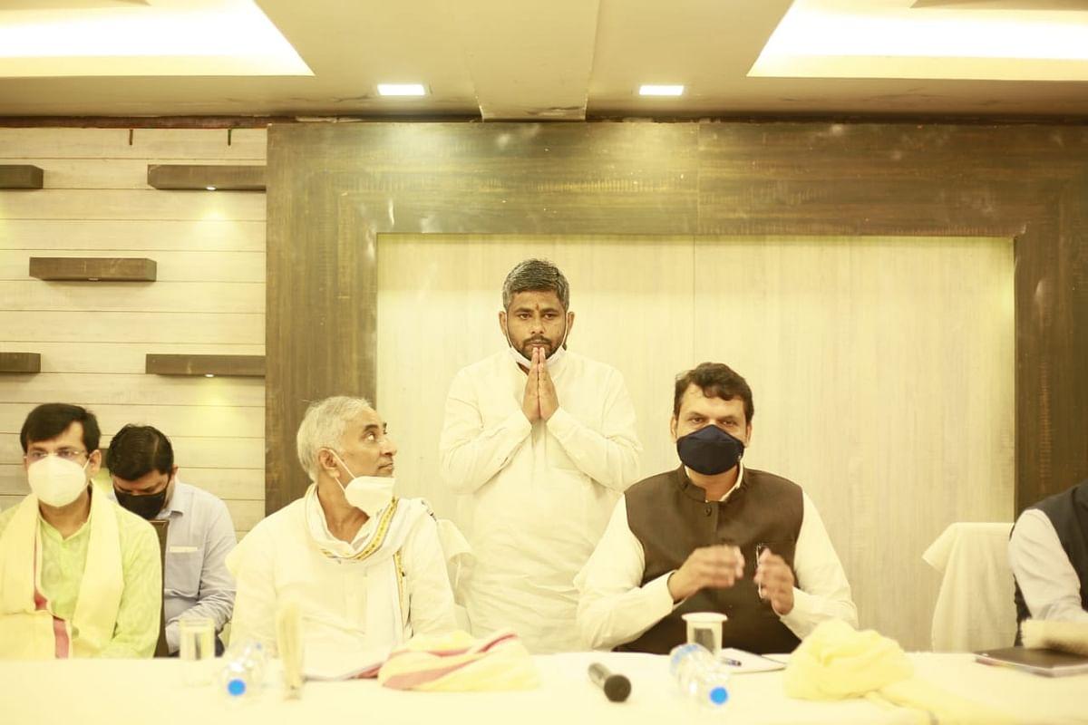 एनडीए की सरकार ने बिहार में स्थापित किया  सुशासन :  फड़नवीस