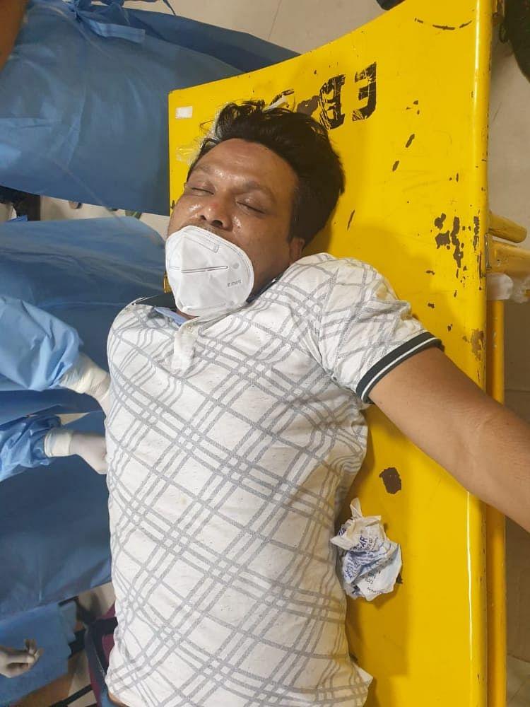 कुख्यात अपराधी अजमल पहाड़ी मुठभेड़ में गिरफ्तार