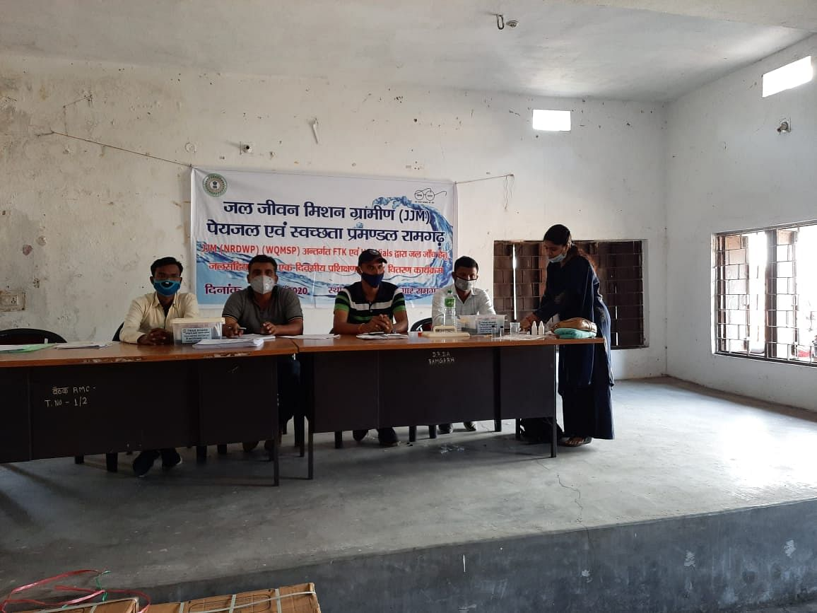 जल गुणवत्ता जांच विषय पर प्रशिक्षण कार्यशाला आयोजित