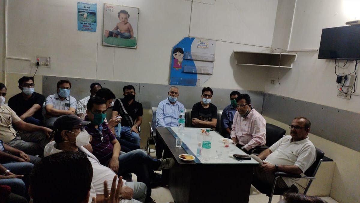 पार्वती क्लीनिक में तोड़फोड़ का आईएमए ने किया विरोध