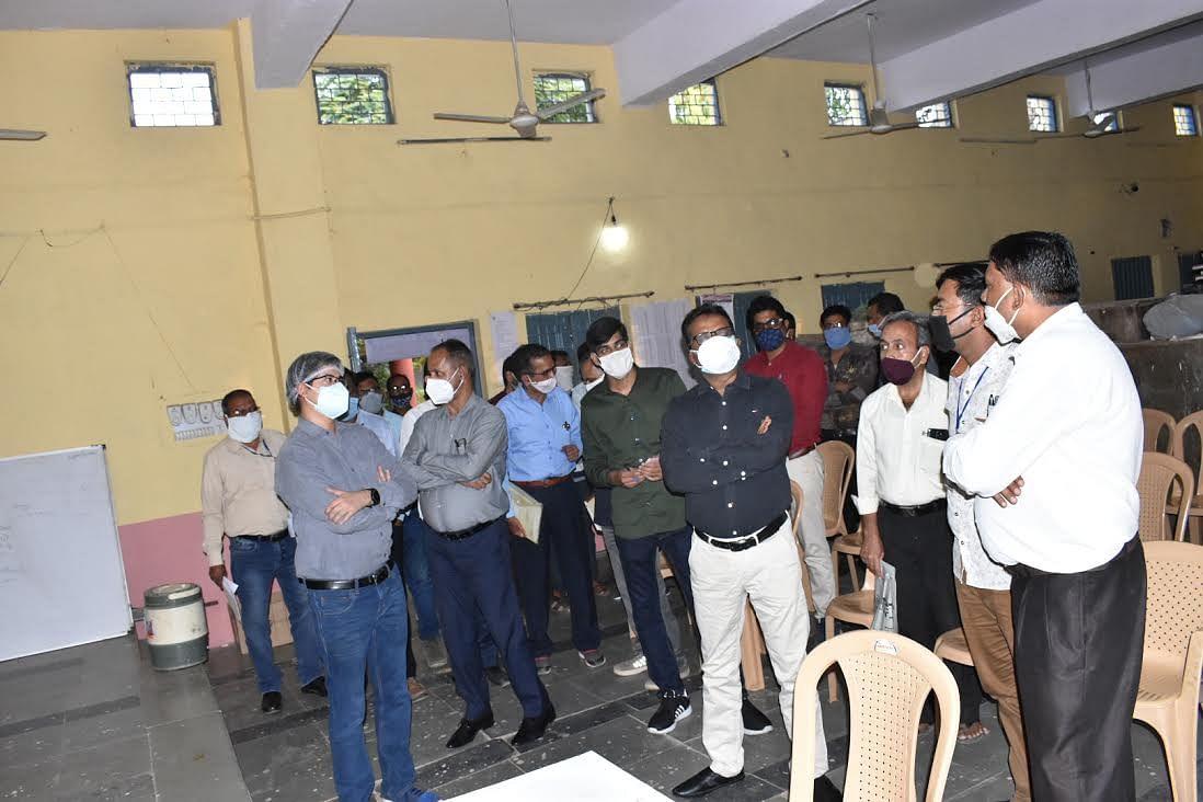 सामान्य प्रेक्षक की उपस्थिति में निर्वाचन संवीक्षा का कार्य संपन्न