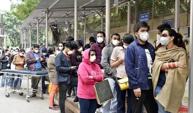दिल्ली में कोरोना वायरस के 3,324 नए मामले, 44 मरीजों की मौत
