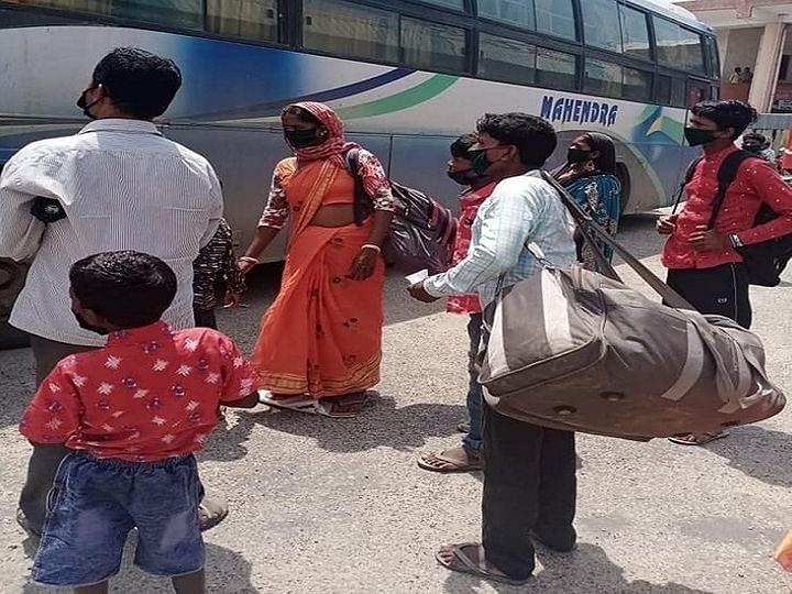 छत्तीसगढ़ लॉकडाउन के दौरान प्रवासी श्रमिकों को सुविधाएं देने के मामले में रहा अव्वल