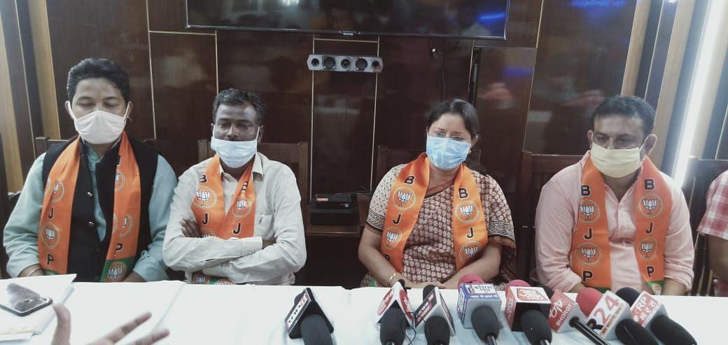 वर्तमान सरकार में विधि व्यवस्था बिल्कुल चरमराई हुई हैः अन्नपुर्णा देवी