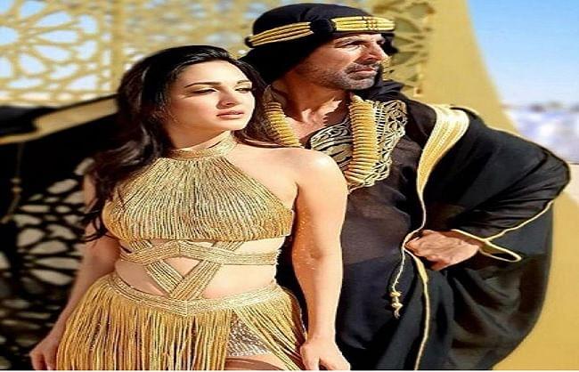 अक्षय कुमार और कियारा आडवाणी की आगामी फिल्म 'लक्ष्मी बॉम्ब' का पहला गाना  'बुर्ज खलीफा' रिलीज