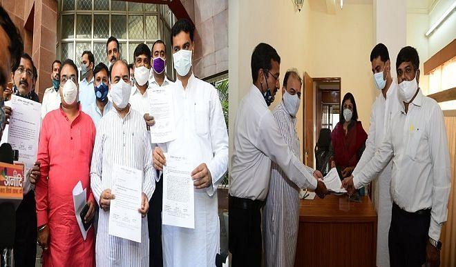 भाजपा ने की चुनाव आयोग में शिकायत, कांग्रेस कर रही है लगातार आचार संहिता का उल्लघंन