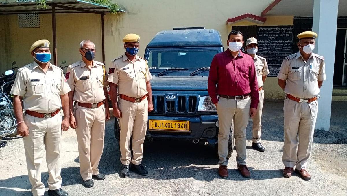 सिक्योरिटी गार्ड रिवाल्वर और 10 जिंदा कारतूस के साथ गिरफ्तार