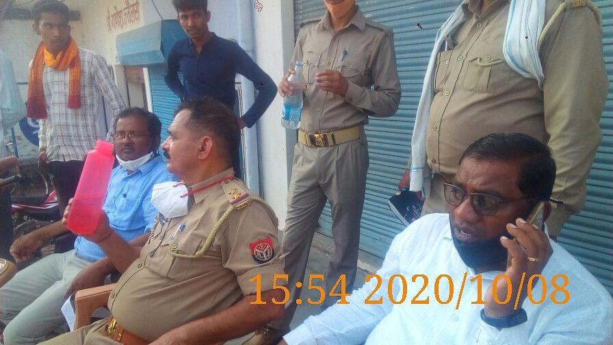 औरैया : विजिलेंस टीम ने छापा मारकर पकड़ी बिजली चोरी