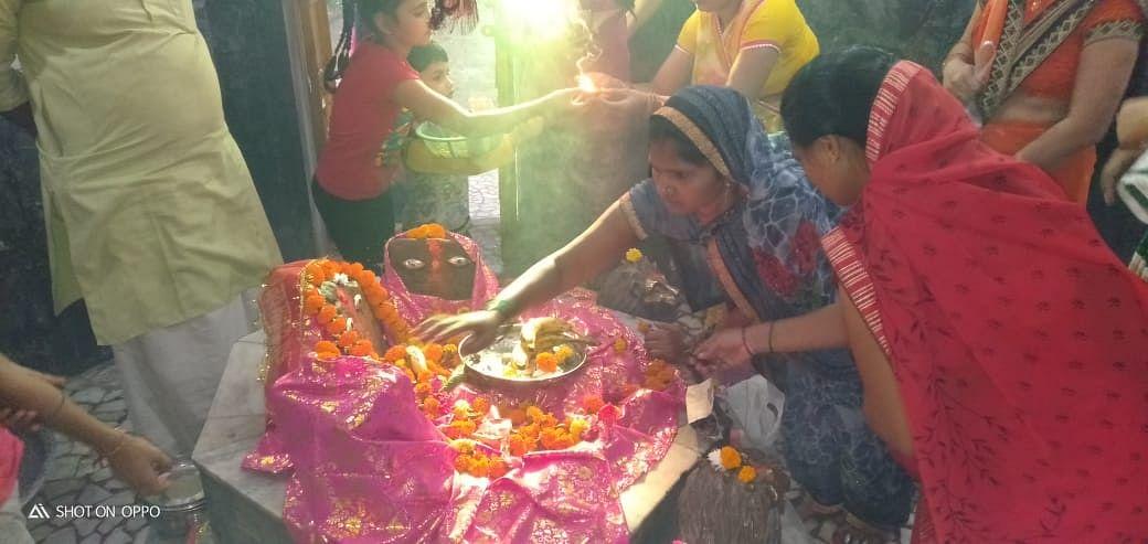त्रेतायुगीन मंदिर की उजियारी देवी भक्तों के जीवन में लाती उजियारा