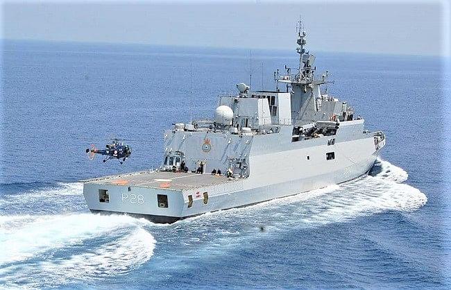 भारतीय नौसेना श्रीलंका में दिखाएगी स्वदेशी समुद्री ताकत
