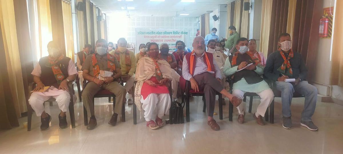 भाजपा राष्ट्रीय अध्यक्ष ने किया अखिल भारतीय मंडल प्रशिक्षण शिविर योजना का वर्चुअल उद्घाटन
