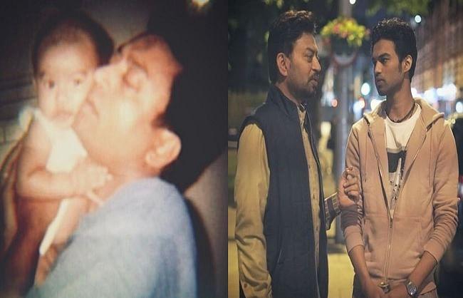 इरफान खान के बेटे बाबिल ने सोशल मीडिया पर शेयर की अनदेखी तस्वीर, लिखा भावुक नोट