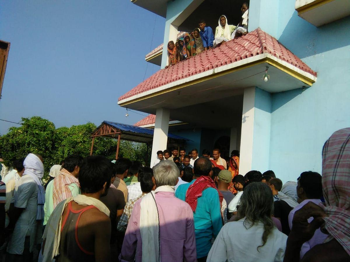 सहरसा : रायफल की गोली लगने से प्रमुख पति की मौत