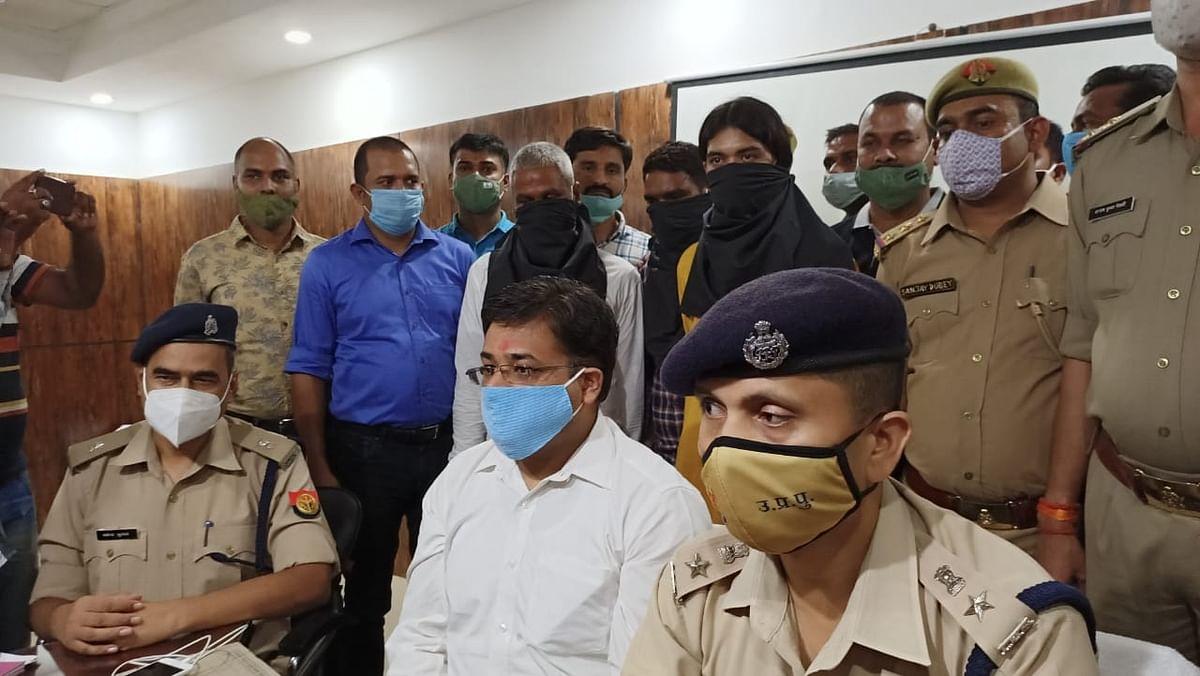 गोंडा पुजारी गोली कांड :  महंत और ग्राम प्रधान ने रची थी साजिश, सात गिरफ्तार