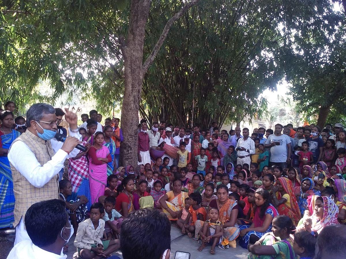 झामुमो परिवार की पार्टी है, सोरेन परिवार संथाल परगना को जागीर समझ बैठी है:बाबूलाल मरांडी