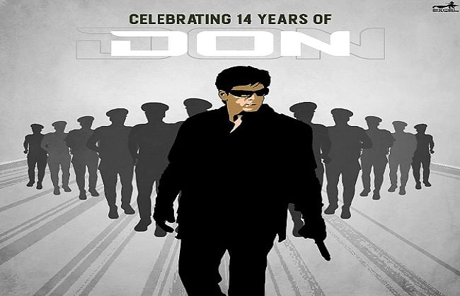 शाहरुख खान की फिल्म 'डॉन' के 14 साल पूरे, फिल्ममेकर ने यही ये बात