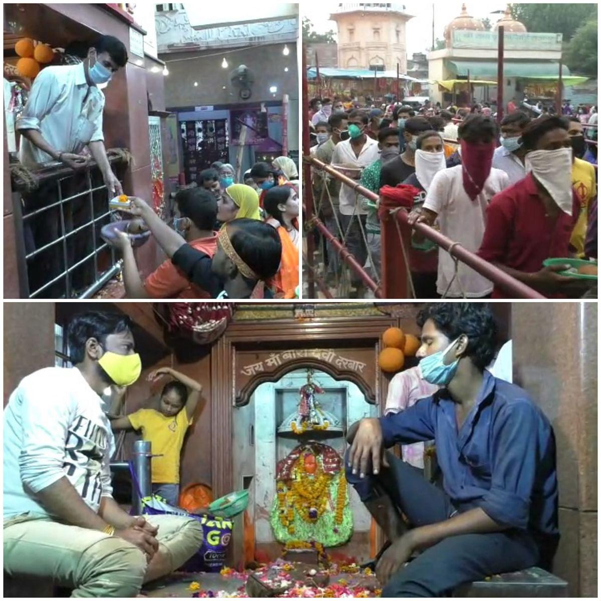 नवरात्र के पहले दिन उमड़ा देवी मंदिरों में आस्था का सैलाब, गूंजे माता के जयकारे