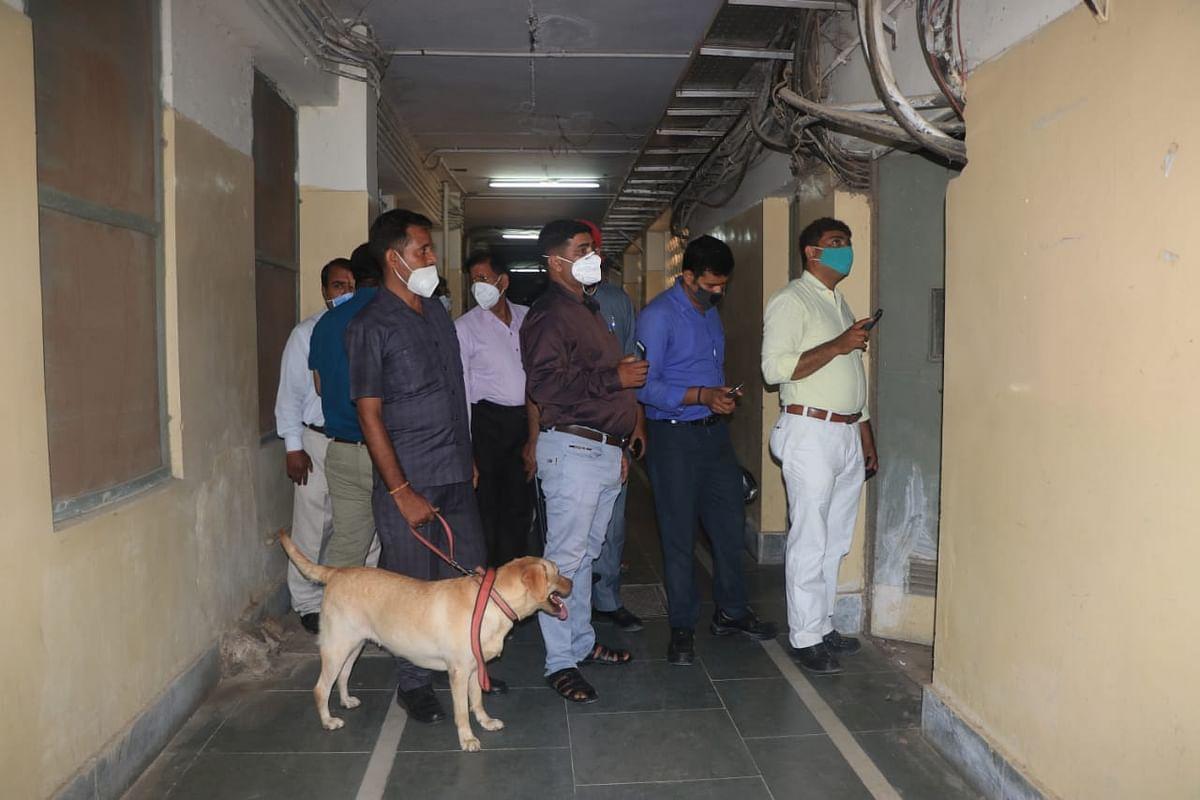 बीएचयू अस्पताल में बम की सूचना पर पुलिस घंटों रही परेशान, कुछ नहीं मिला, राहत की सांस