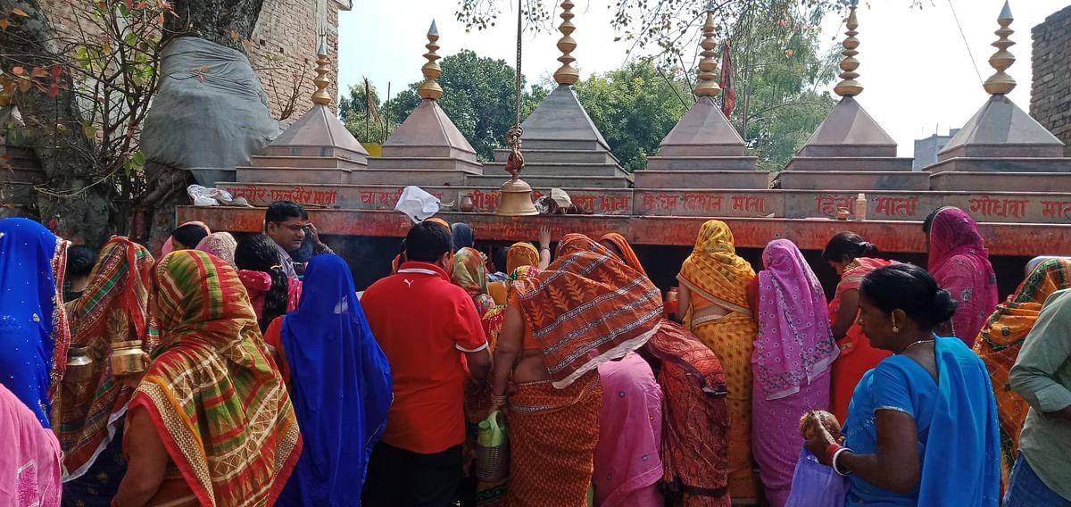शैलपुत्री की आराधना के साथ शुरू हो गयी नवरात्रि, रविवार को ब्रह्मचारिणी की पूजा