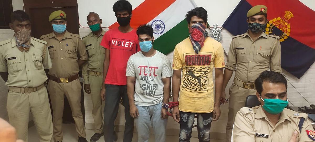 दिल्ली की जेल से चल रहे अंतरराज्यीय केबल चोरी का खेल, कानपुर पुलिस ने तीन अभियुक्तों को किया गिरफ्तार