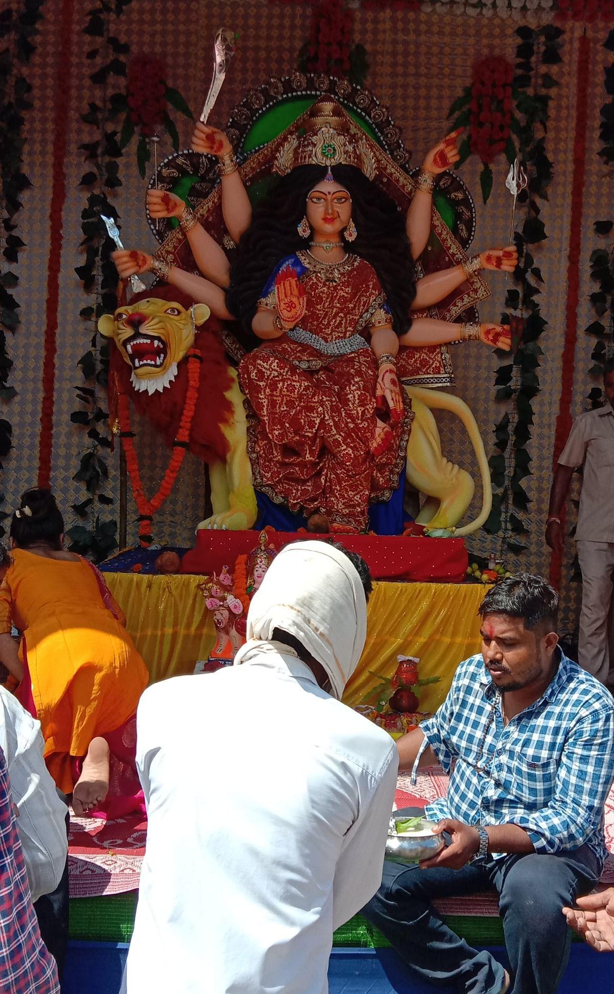 क्वांर नवरात्र पर जले आस्था के ज्योत
