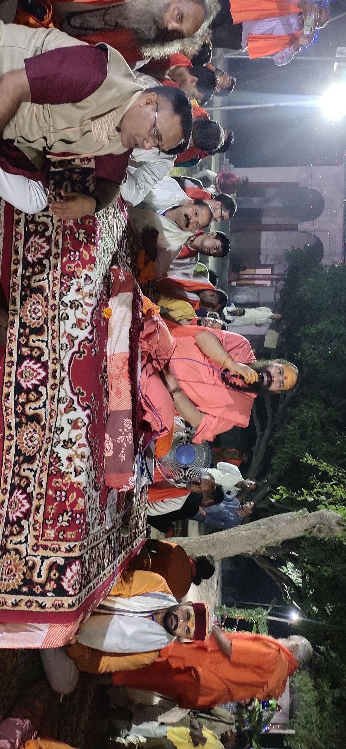सिद्धपीठ स्थित बुढ़िया माई के तेज से समूचा आध्यात्मिक जगत प्रकाशमान- महामंडलेश्वर