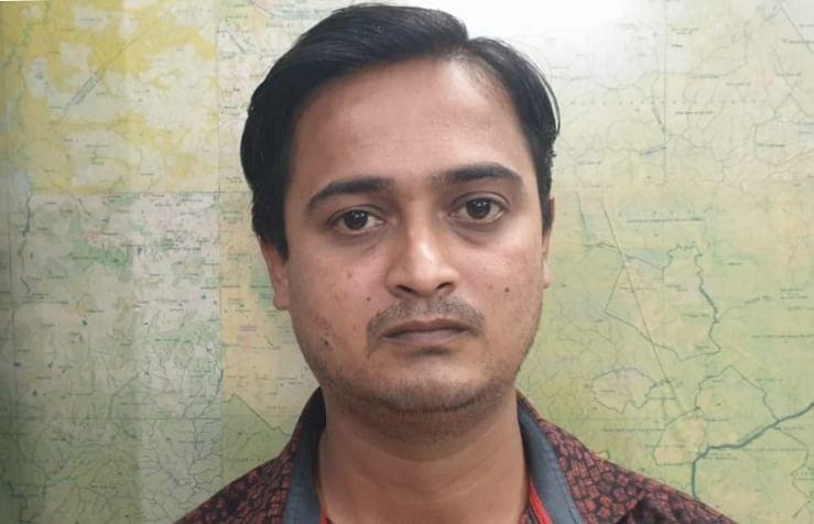 आईपीएल क्रिकेट मैच में दांव लगाने वाला 01 सटोरिया गिरफ्तार