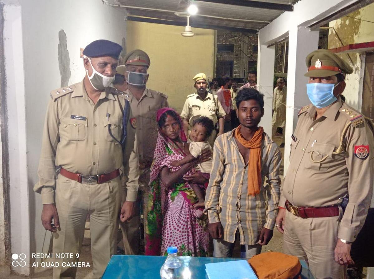 पुलिस ने अपहृत बच्चे को 36 घंटे के अन्दर सकुशल किया बरामद, अपहरणकर्ता गिरफ्तार