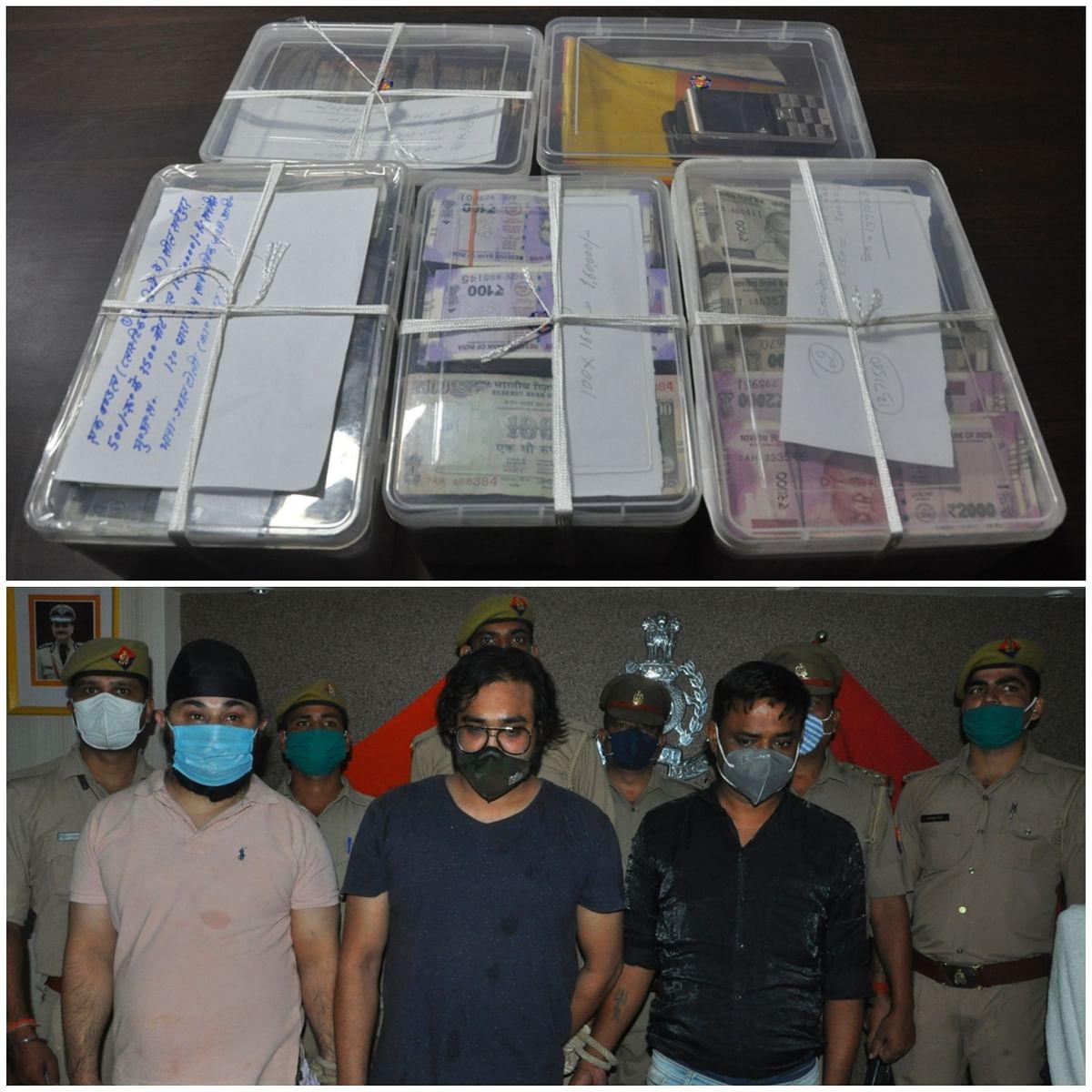 कानपुर : आईपीएल मैच में सट्टा खिलवाने वाले गैंग के तीन सटोरियें गिरफ्तार