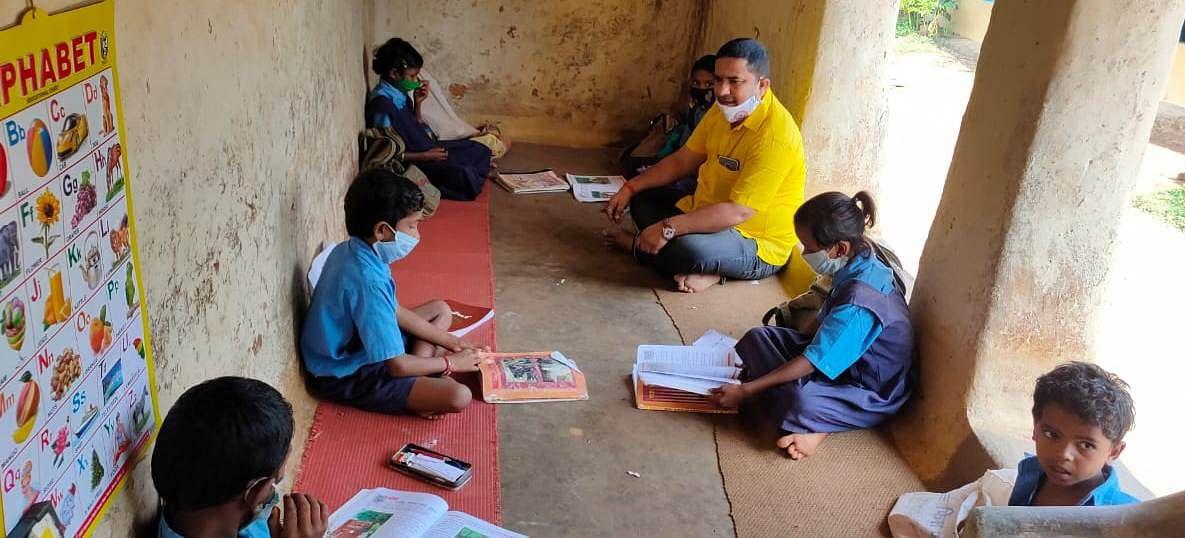 छत्तीसगढ़: कोविड-19 के बावजूद दूरस्थ अंचलों तक शिक्षा से आंनदित हुए बच्चे : नीति अयोग