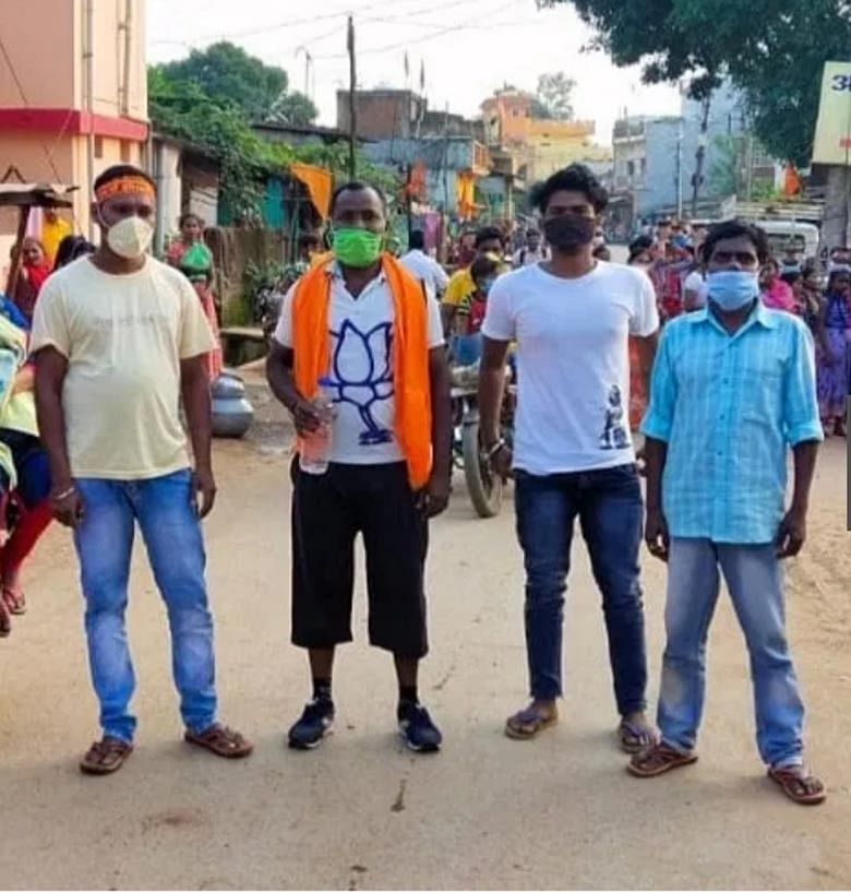 पार्षद जगदलपुर से रायपुर की ओर पदयात्रा पर,राज्यपाल को सौपेंगे  ज्ञापन
