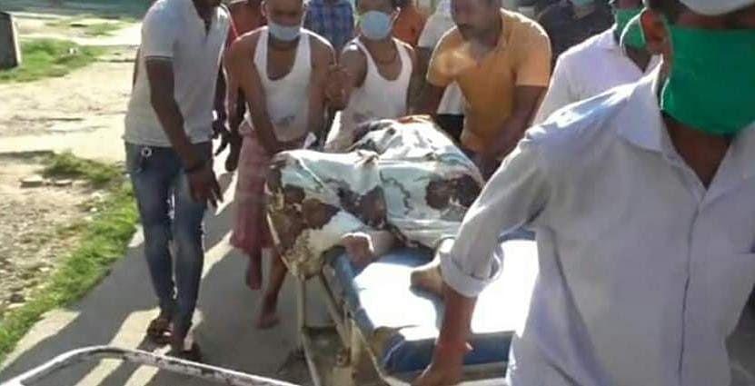 मटकुरिया में गोली चलने से एक महिला की मौत, दो घायल