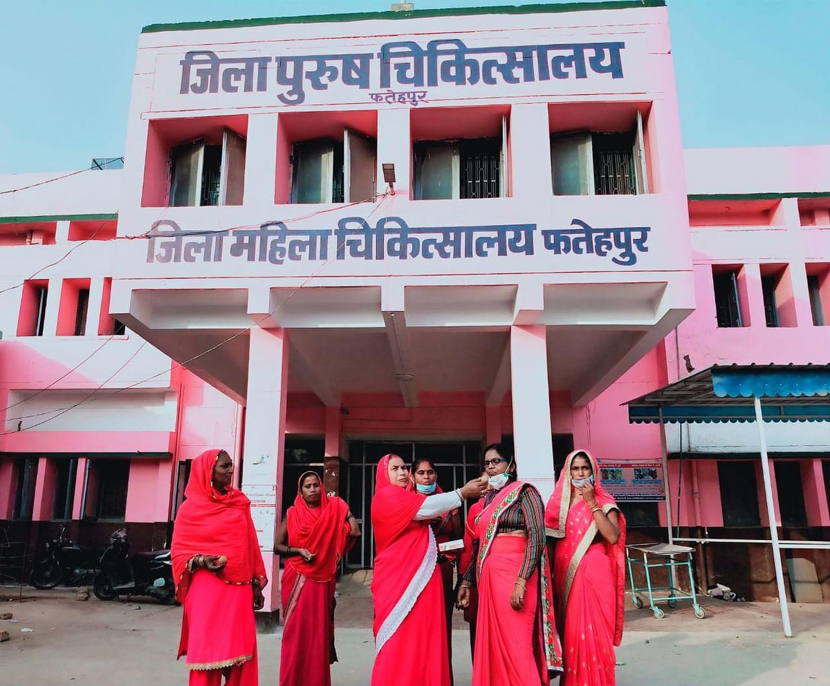 फतेहपुर : जिले में बहाल हुई मेडिकोलीगल व्यवस्था, गुलाबी गैंग लोकतान्त्रिक ने जताई खुशी