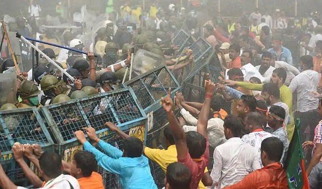 बंगाल सांसद ने बीजेपी रैली के दौरान वाटर कैनन के इस्तेमाल को लेकर गृह मंत्री को लिखा पत्र
