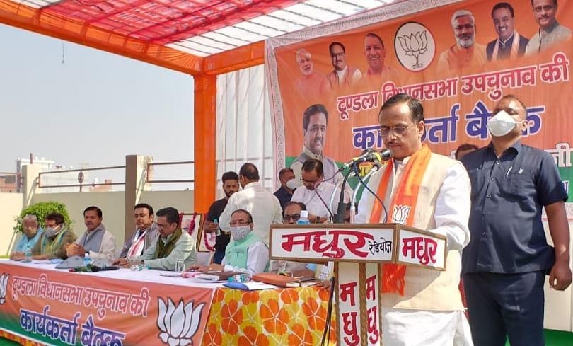 उपचुनाव में प्रदेश की सातों सीटों पर होगी भाजपा की जीत : दिनेश शर्मा