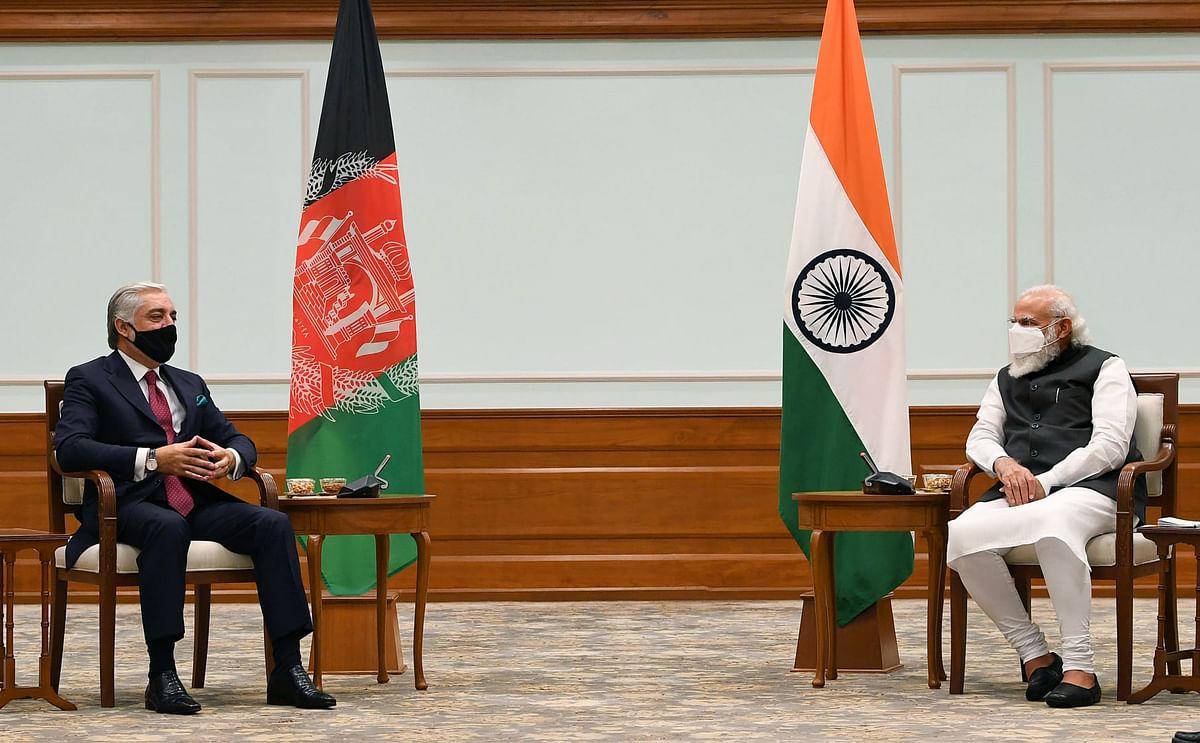 अफगान शांति प्रक्रिया के मुख्य वार्ताकार ने की प्रधानमंत्री से मुलाकात