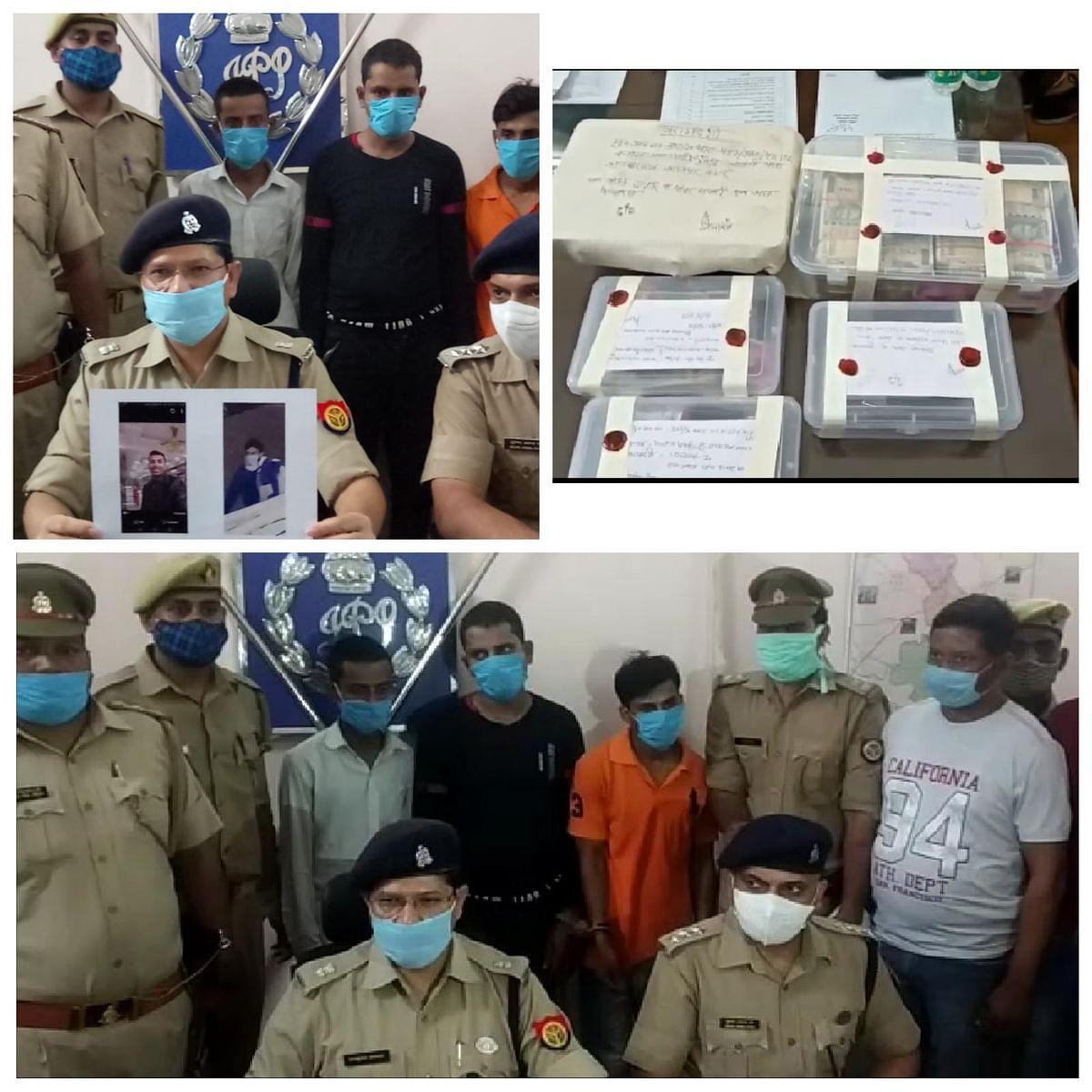 कानपुर : कपड़ा फर्म में हुई 14 लाख की चोरी का खुलासा, कर्मी समेत तीन गिरफ्तार