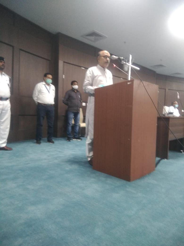 झारखंड विधानसभा में मंत्री हाजी हुसैन के निधन पर शोकसभा आयोजित