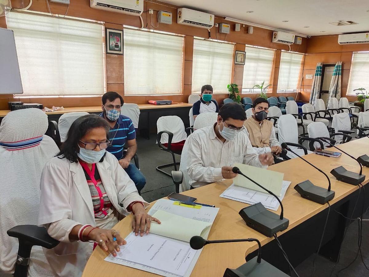 स्वास्थ्य उपकरण की खरीदारी के लिए स्वास्थ्य विभाग एवं गेल इंडिया के बीच हुआ एमओयू