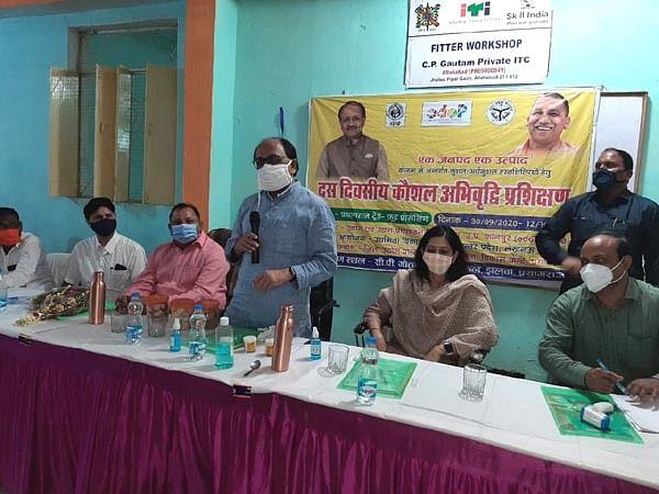 राष्ट्रीय एवं अंतरराष्ट्रीय स्तर पर फूड प्रोसेसिंग निर्मित सामग्रियों के लिए होगा उद्योग स्थापित : सिद्धार्थनाथ सिंह