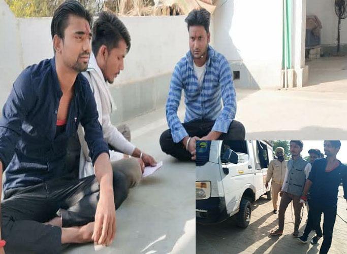 मथुरा : शाही ईदगाह मस्जिद में चार युवकों ने पढ़ी हनुमान चालीसा, पुलिस ने लिया हिरासत में