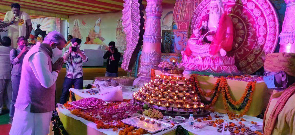 महर्षि वाल्मीकि की रचना से हमें भगवान राम के जीवन को नजदीक से देखने का मौका मिला : आदेश गुप्ता