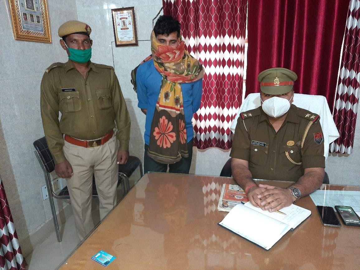 नौ माह की बच्ची के अपहरणकर्ता को बड़ौत पुलिस ने मध्य प्रदेश में दबोचा
