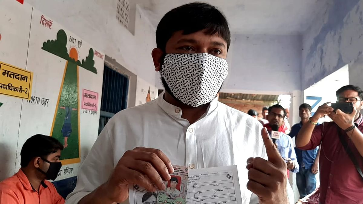 विफल हो गई सरकार की मंशा, बदलाव के लिए वोट कर रही है जनता : कन्हैया कुमार