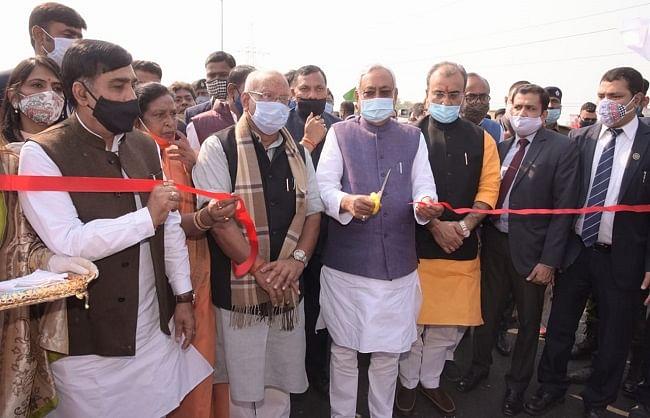 एम्स-दीघा एलिवेटेड रोड राज्य की जनता को नई सरकार का पहली सौगातः नीतीश कुमार