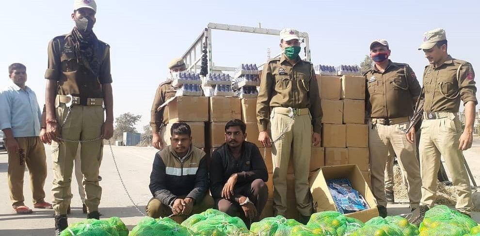 लखनपुर पुलिस ने नशे की बड़ी खेप बरामद कर दो नशा तस्करों को गिरफ्तार किया
