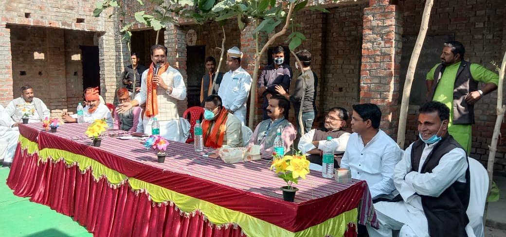एमएलसी चुनाव में प्रचार ने पकड़ी रफ्तार, जीत के लिए धुआंधार बैठक